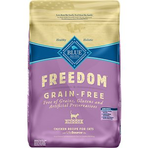 Blue Buffalo Freedom Indoor Adult Chicken Recipe Grain-Free Dry Cat Food