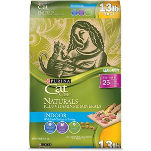 Cat Chow Naturals Indoor with Real Chicken & Turkey Dry Cat Food