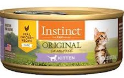natures variety instinct cat food