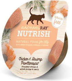 rachael nutrish cat food