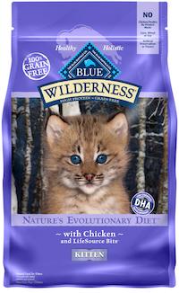 Blue Buffalo Wilderness High Protein Grain Free Dry Kitten Food