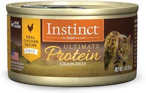 Instinct Grain Free Recipe Natural Wet Canned Cat Food (Chicken Recipe)
