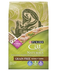 Purina Cat Chow Naturals Grain Free Adult Dry Cat Food