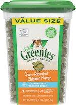 Greenies Feline Oven Roasted Chicken Cat Treats