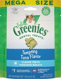 Greenies Feline Tempting Tuna Flavor Adult Dental Cat Treats