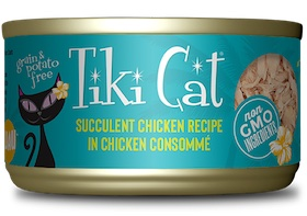 Tiki Cat Puka Puka Luau Succulent Chicken in Chicken Consomme Grain-Free Canned Cat Food
